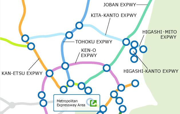 Japans Expressway Network Expressways Drive Plaza DoRaPuRa